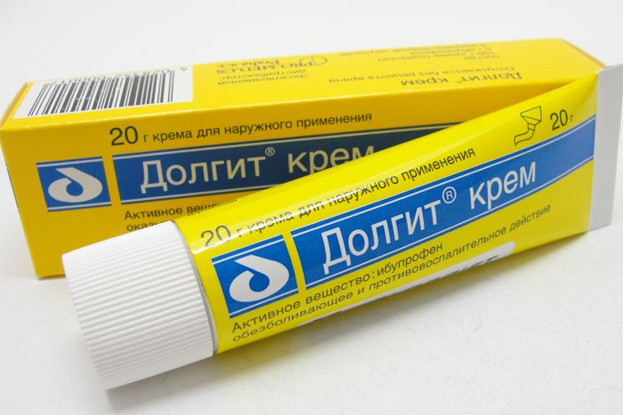 Обезболивающее средство Долгит при эпиндиколите