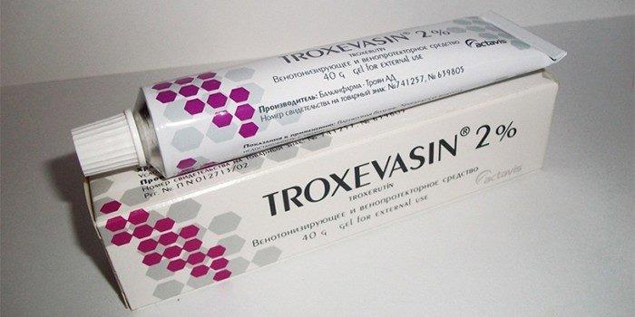 Троксевазин является эффективным средством при растяжении