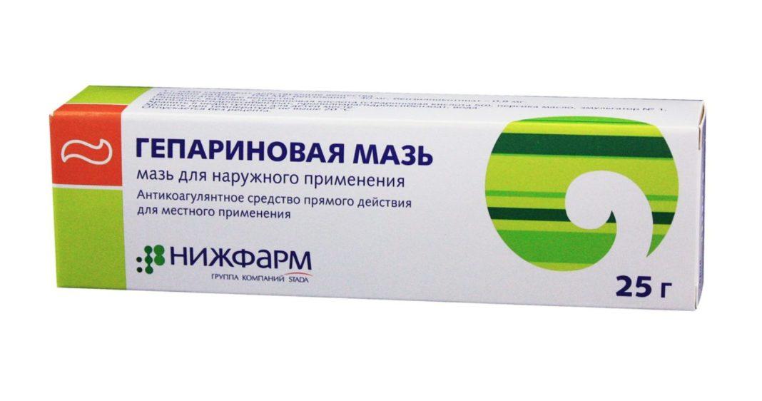 Гепариновая мазь от ушибов