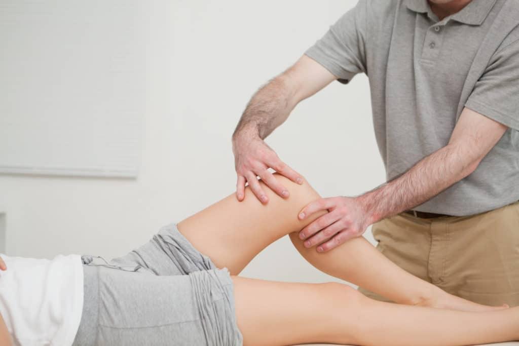 Массаж для ног после перелома колена, лодыжки и берцовой кости