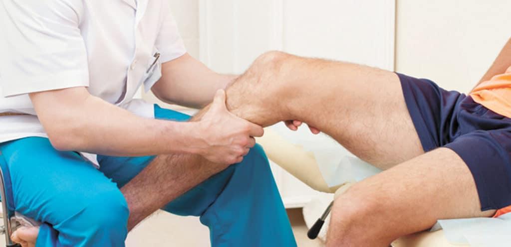 Массаж ноги при реабилитации