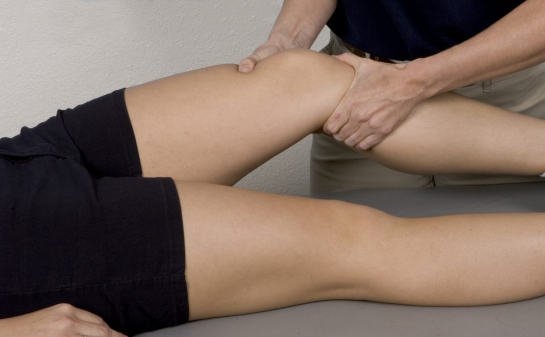 Массаж для ног после перелома колена и голени