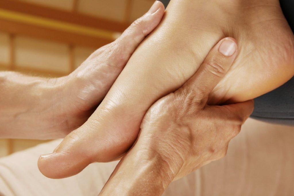 Вывих пальца на ноге: Диагностика вывиха