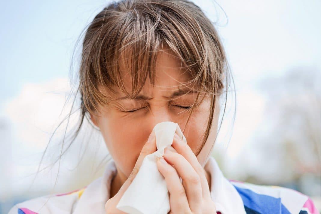 Ожог слизистой носа