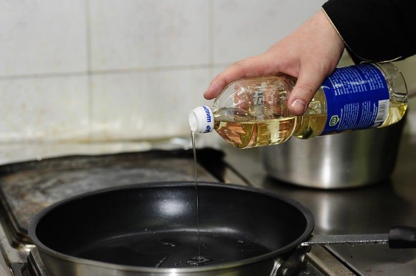 Что делать при ожоге маслом растительным в домашних условиях