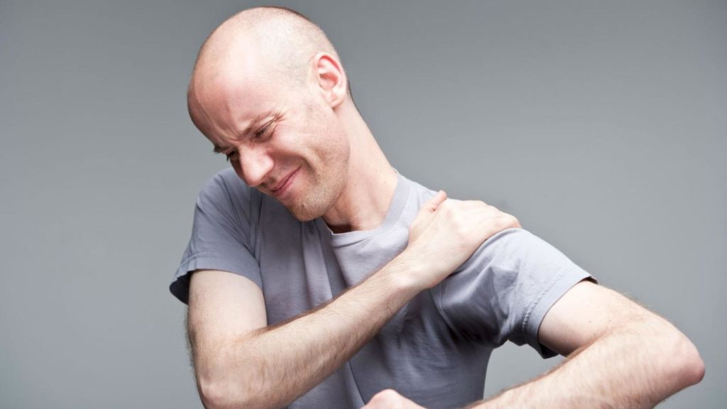Бандаж на плечевой сустав - хронические боли