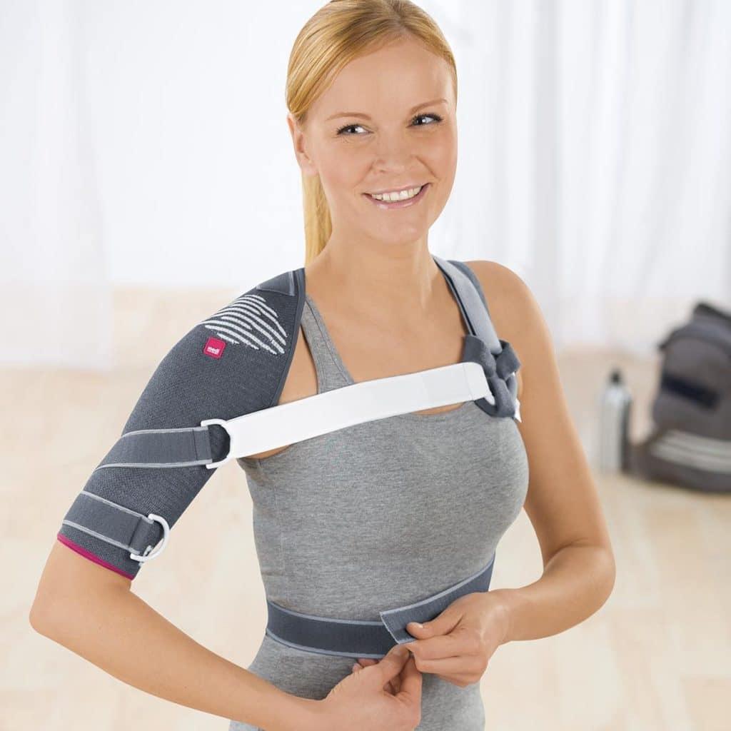 Бандаж на плечевой сустав - мягкий бандаж