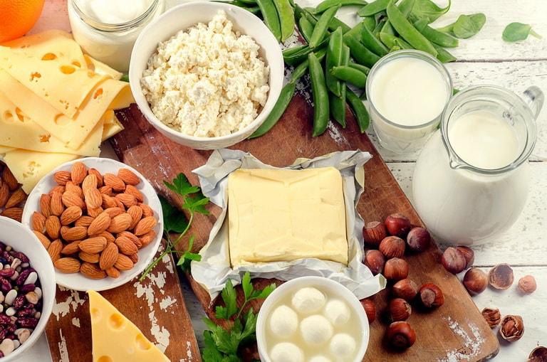 продукты, содержащие кальций