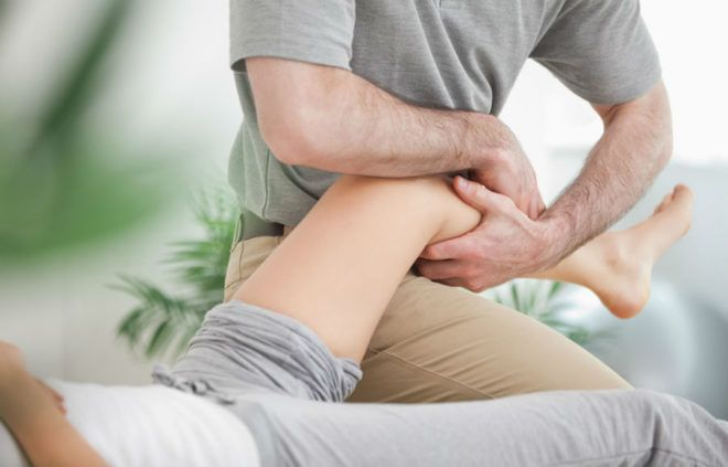 Надколенник коленного сустава - массаж