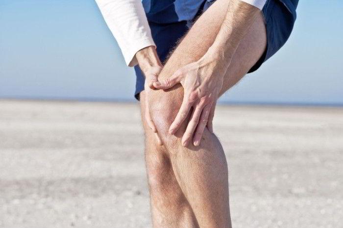 Надколенник коленного сустава - симптом перелома
