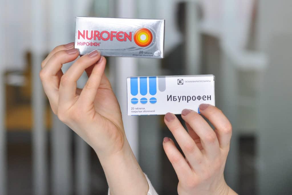 Обезболивающие и противовоспалительные препараты