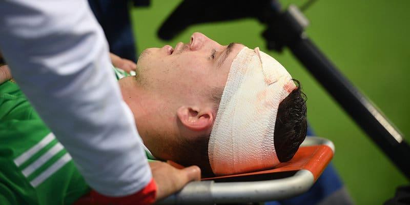 первая помощь при ранах: рана головы