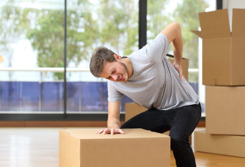 Растяжение мышц спины: симптомы