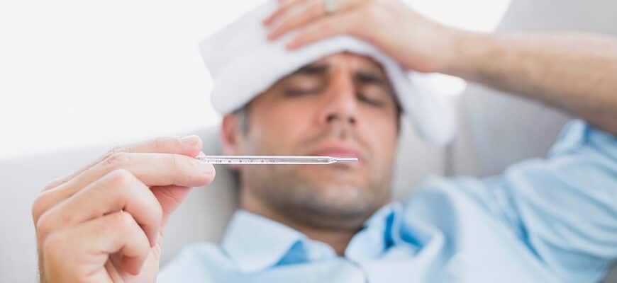 Лихорадка у взрослых: причины, симптомы, когда обратиться к врачу и лечение