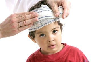 Травма головного мозга у ребенка